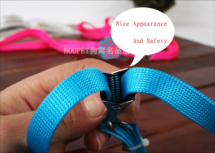 Cute Dog Paw Decorated Chest Strape with Collar for Small Dogs
