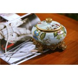 Wholesale - Vintage Pottery Ashtray / Container Pattern Family Artware