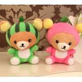 wholesale - Cute & Novel Bear Plush Toys Set 3Pcs 18*12cm