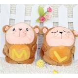 Wholesale - Lover Mole Plush Toys Stuffed Animals Set 2Pcs 18cm/7Inch Tall