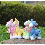 Wholesale - Giraffe Plush Toys Stuffed Animals Set 2Pcs 18cm/7Inch Tall