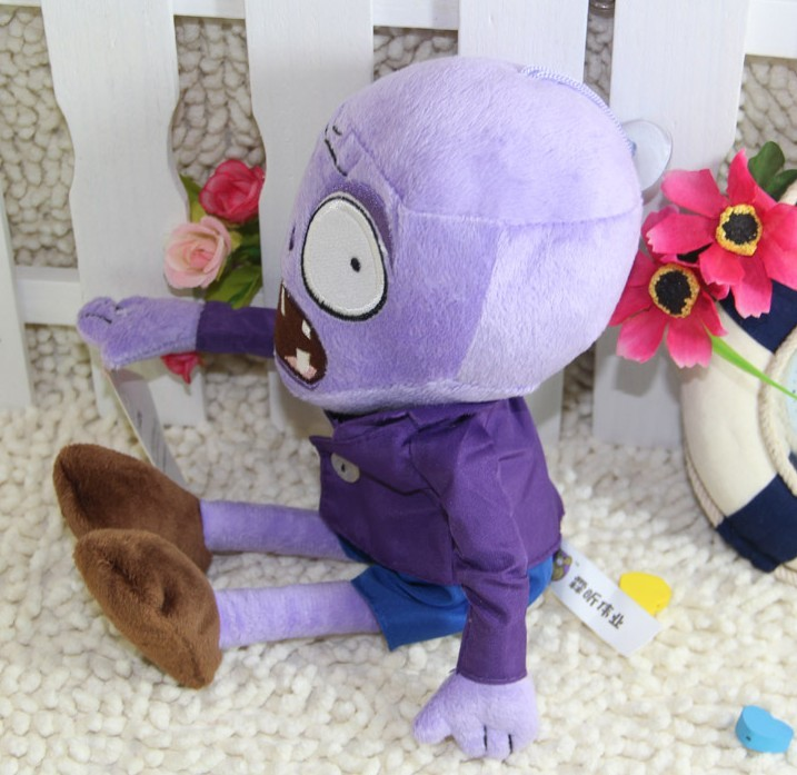 Cute Plants vs Zombies Series Plush Toy 28*11CM
