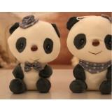 wholesale - Cute & Novel Panda 12s Voice Recording Plush Toy 18*13cm 2PCs