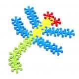 Wholesale - 320 pcs Snowflake Puzzle Building Blocks Toy