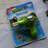 wholesale - Plants vs Zombies Peashooter Vinyl Doll Watershooting Toy Bubble Blowing Toy