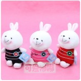 Wholesale - Button Rabbit Plush Toy Stuffed Animal