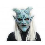 Wholesale - Halloween/Custume Party Mask Monster Mask Ram's Horn Full Face
