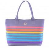 Wholesale - Stylish Charming Canvas Color Stripe Casual Bag DL085