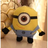 Wholesale - DESPICABLE ME The Minions Plush Toy - One Eye 16cm/6.3Inch Tall