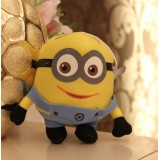 Wholesale - DESPICABLE ME The Minions Plush Toy - Two Eyes Smile 16cm/6.3Inch Tall