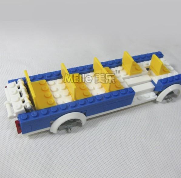 WANGE High Quality Plastic Blocks Bus Series 302 Pcs LEGO Compatible 44131N