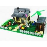 Wholesale - WANGE High Quality Plastic Blocks Farm Series 412 Pcs LEGO Compatible
