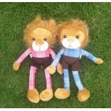 Wholesale - Beach Lion Large Plush Toy 30cm/11inch