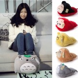 Wholesale - Cute Cartoon Thickene Warm Cotton Slipper Totoro/Ali/Bear/Monkey/China Doll
