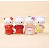 wholesale - 4pcs/Kit Chinese/ Western Wedding Cats PVC Action Figures/Garage Kit Model Toy