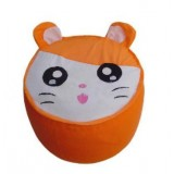 Wholesale - Inflatable Ottoman / Stool Thickened Inner with Pump - Hamtaro