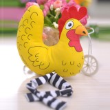 Wholesale - Fat Cat Squeaking Dog Toy Pet Toy Dog Chewing Toy -- Yellow Chicken