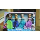 """Wholesale - Frozen Princess Action Figures Figure Dolls 23cm/9"""" 4pcs/Kit"""