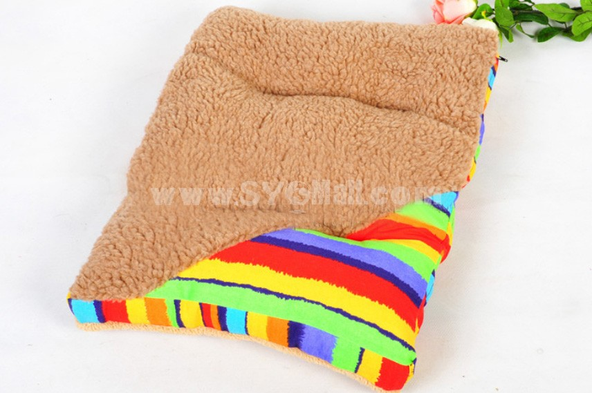 Double Side Colorful Pet Bed Machine Washable Small Size 60cm/23inch