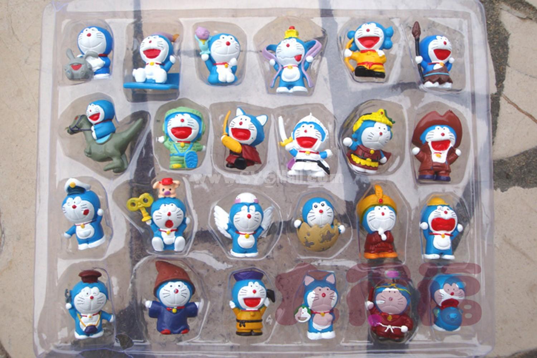 Doraemon Figures Toys PVC Toys 24pcs/Lot 4cm/1.6inch
