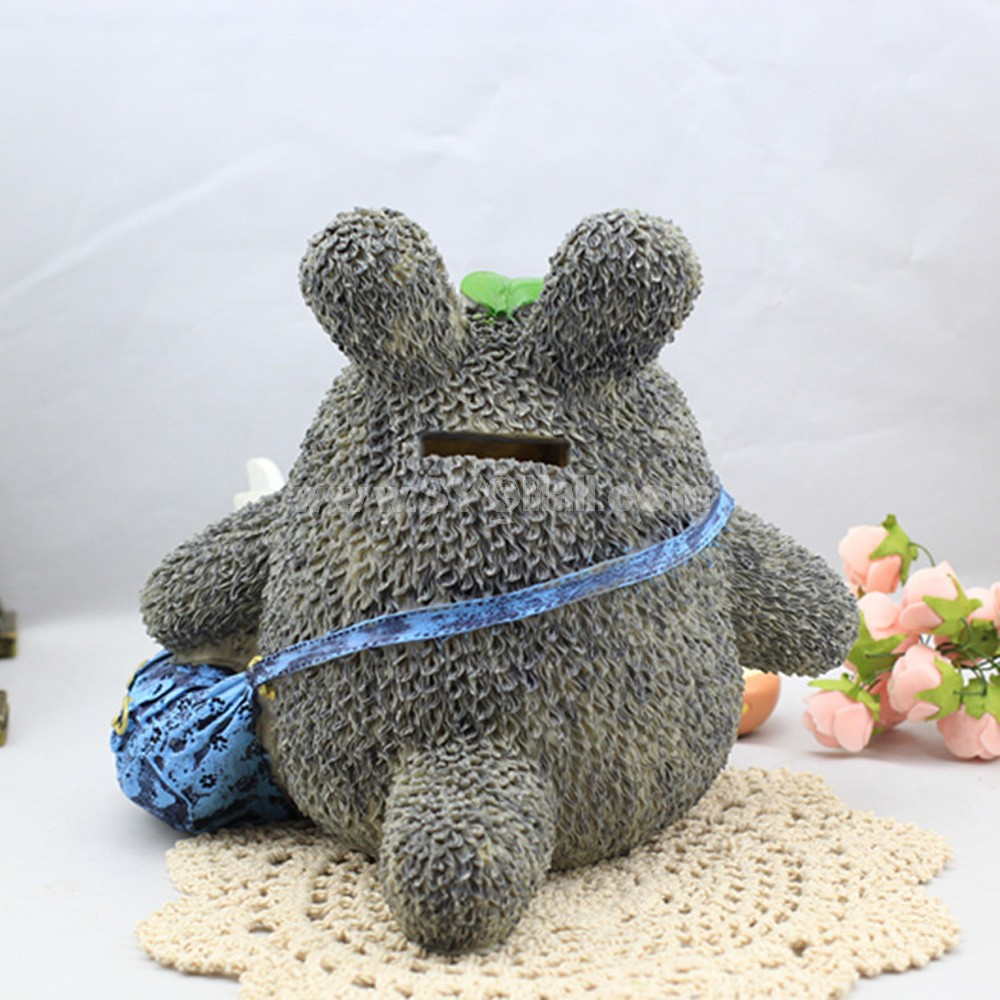 Totoro Figure Toy Piggy Bank Money Box -- Shoulder Bag