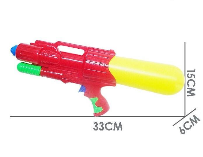 Plastic Water Gun Hand Pull Water Pistol Water Blaster 671