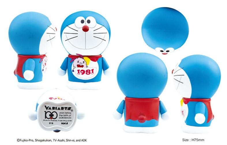 "Doraemon 100th Anniversary Edition Arm Moveable Figure Toy 7.5cm/2.9"" 016"