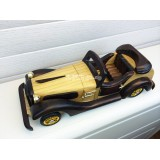 Wholesale - Handmade Wooden Decorative Home Accessory Roadster Vintage Car Classic Car Model 2010