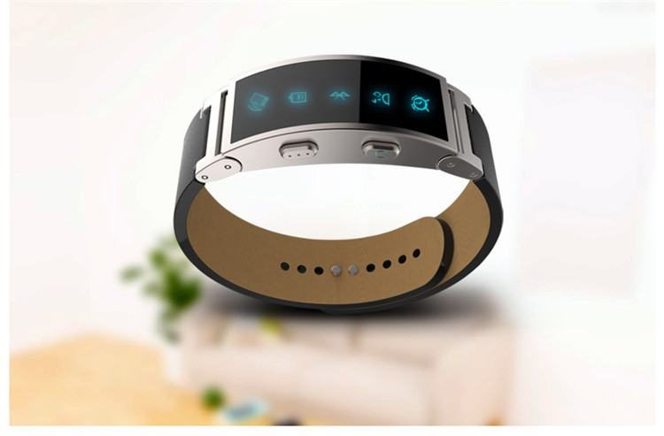 Bluetooth Smart Band Smart Wristwatch with Vibrating Reminder Pedometer for Android iOS