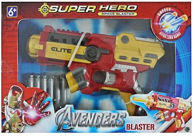Marvel Super Hero Space Blaster Iron Man