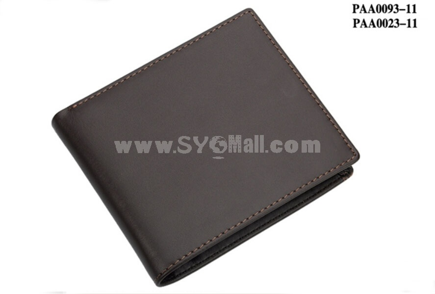 Playboy Men's Short Leather Wallet Purse Notecase PAA0023-11