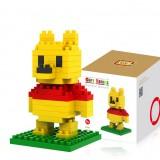 LOZ DIY Diamond Mini Block Toys Cute Cartoon Toys Action Figure - LOVELY BEAR