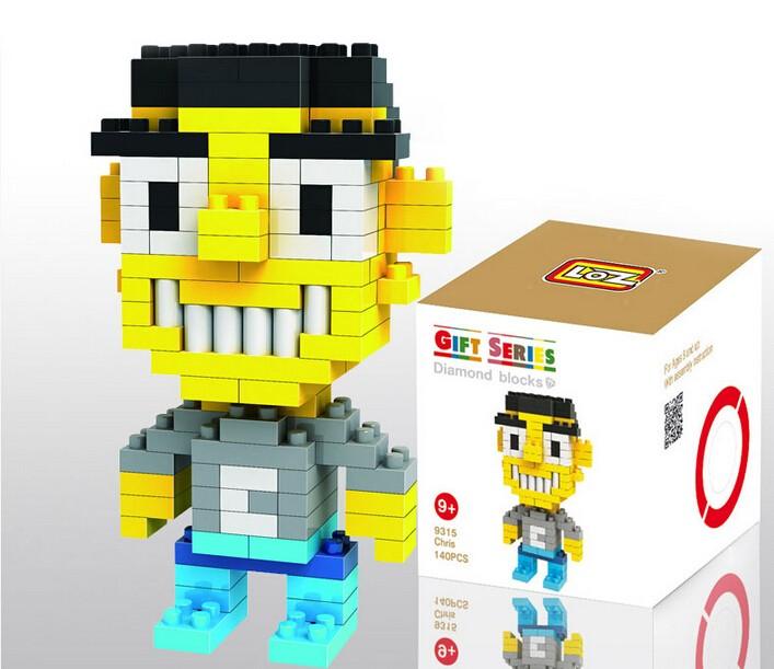 LOZ Diamond Mini Block Toys Cute Cartoon Toys Action Figure - CHRIS