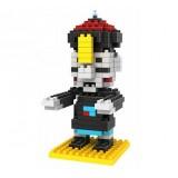 LOZ DIY Diamond Mini Block Toys Cute Cartoon Toys Action Figure - CHINESE ZOMBIE