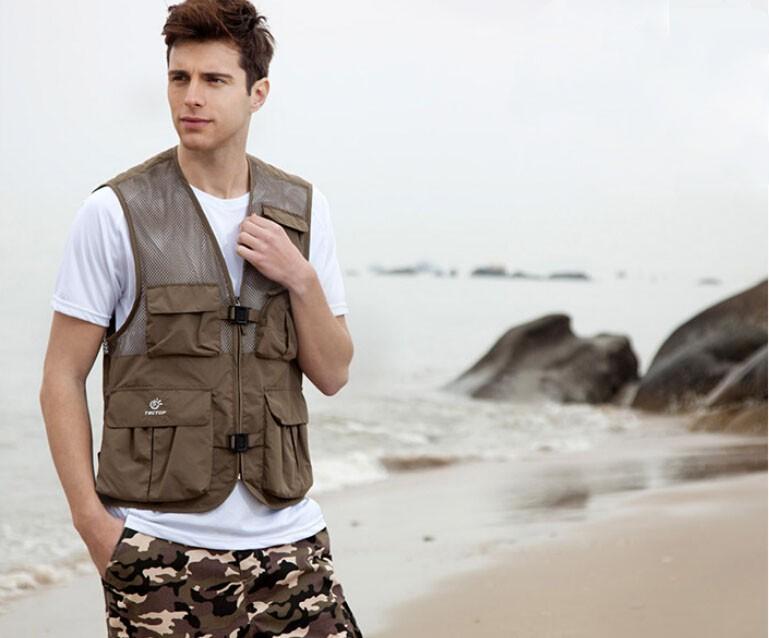 Multi-function Fishing Vest Fishing Clothing Outdoor Clothing SV4019