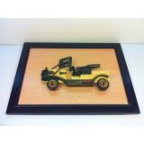 Wholesale - Handmade Wooden Home Decoration Vintage Car Cameo Photo Frame Gift Frame 001