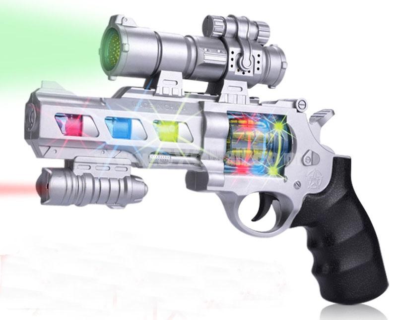 Musical Pistol Toy Revolving Pistol Toy 8020